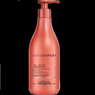 Inforcer stiprinošs šampūns, kas novērš matu lūšanu 500 ml