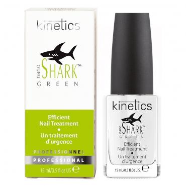 Kinetics Nano Green Shark stiprinātājs nagiem 15 ml