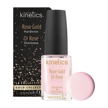 Kinetics Rose Gold stiprinātājs nagiem 15 ml