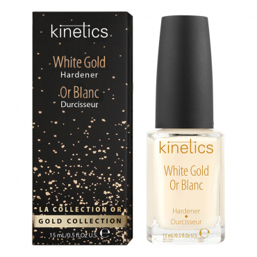 Kinetics White Gold stiprinātājs nagiem 15 ml