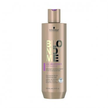 Schwarzkopf BLONDME Viegli kopjošs šampūns visiem blondu matu tipiem 300ml