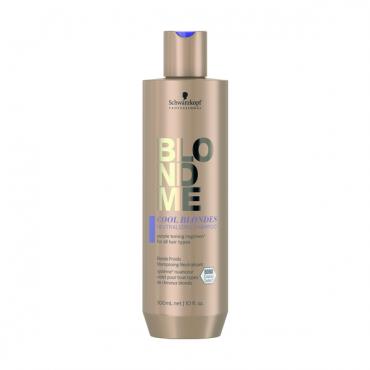Schwarzkopf BLONDME Neitralizējošs šampūns vēsi blondiem matiem 300ml