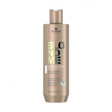 Schwarzkopf BLONDME Attīrošs šampūns visiem blondu matu tipiem 300ml