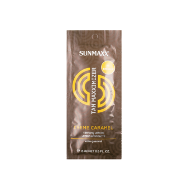 Sunmax Sauļošanās krēms ar karameļu  aromātu 15ml