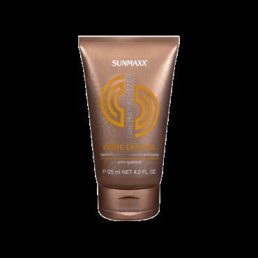 Sunmax sauļošanās krēms ar karameļu aromātu 125ml