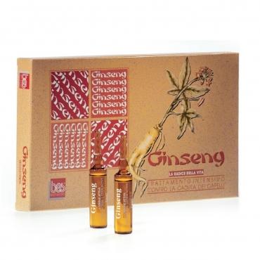Ginseng ženšen losjons ampulās 12 x 10ml